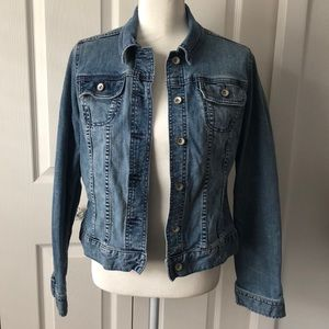 Merona Denim Jeans Jean Jacket - Medium